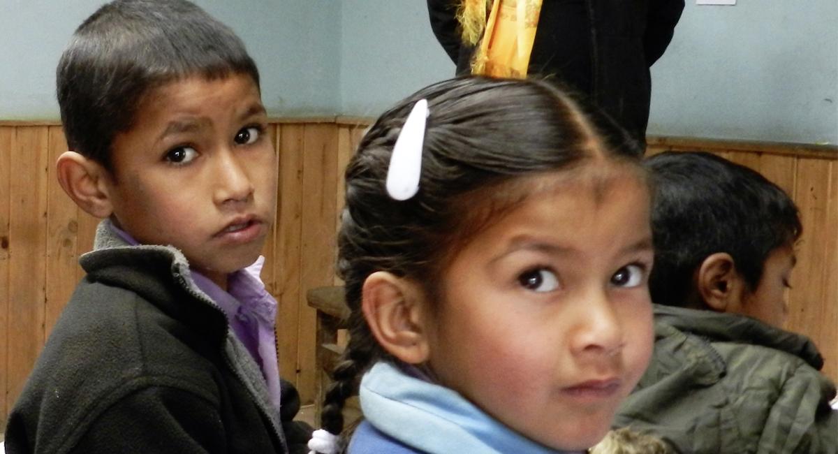 Vortrag zum Projekt Sherpa Schule Bamti Bhandar